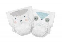 Kit & Kin High Performance Eco Friendly Nappies Size 1 Monthly Box 2-5kg/4-11lbs