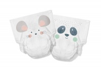 Kit & Kin High Performance Eco Friendly Nappies Size 2 Monthly Box 4-8kg/9-18lbs
