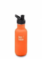 Klean Kanteen Classic Stainless Steel Reusable Water Bottle - 532 ml / 18 oz - Sierra Sunset