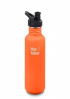 Klean Kanteen Classic Stainless Steel Reusable Water Bottle - 800ml / 27oz -  Sierra Sunset