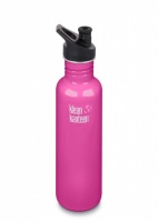 Klean Kanteen Classic Stainless Steel Reusable Water Bottle - 800ml / 27oz -  Wild Orchid