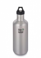 Klean Kanteen Classic Brushed Stainless Steel Reusable Water Bottle - 1182ml / 40oz