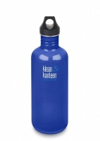 Klean Kanteen Classic Stainless Steel Reusable Water Bottle - 1182ml / 40oz Coastal Waters