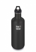 Klean Kanteen Classic Stainless Steel Reusable Water Bottle - 1182ml / 40oz Shale Black
