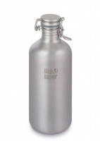 Klean Kanteen Stainless Steel Growler Bottle for Fizzy Drinks and Beer 1900ml / 64oz
