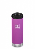 Klean Kanteen Insulated TK Wide - Perfect for Coffee or Cold Drinks On The Go 473ml/16oz Berry Bright