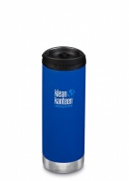 Klean Kanteen Insulated TK Wide - Perfect for Coffee or Cold Drinks On The Go 473ml/16oz Deep Surf