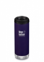 Klean Kanteen Insulated TK Wide - Perfect for Coffee or Cold Drinks On The Go 473ml/16oz Kalamata