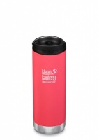 Klean Kanteen Insulated TK Wide - Perfect for Coffee or Cold Drinks On The Go 473ml/16oz Melon Punch
