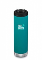 Klean Kanteen Insulated TK Wide - Perfect for Coffee or Cold Drinks On The Go 592ml/20oz Emerald Bay