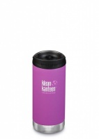 Klean Kanteen Insulated TK Wide - Perfect for Coffee or Cold Drinks On The Go 355ml/12oz Berry Bright
