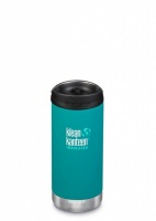 Klean Kanteen Insulated TK Wide - Perfect for Coffee or Cold Drinks On The Go 355ml/12oz Emerald Bay