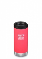 Klean Kanteen Insulated TK Wide - Perfect for Coffee or Cold Drinks On The Go 355ml/12oz Melon Punch