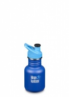 Klean Kanteen Kids Sports Water Bottle - Reusable BPA-Free Stainless Steel 12oz/335ml Surfs Up