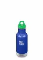 Klean Kanteen Kids Insulated Bottle - Perfect for Hot and Cold Drinks - 12oz/335ml Coastal Waters