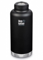 Klean Kanteen Insulated TK Wide - Perfect for Coffee or Cold Drinks On The Go 1900ml/64oz Shale Black