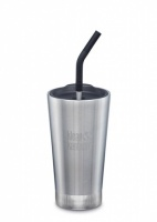 Klean Kanteen Insulated Tumbler - Perfect for Smoothies and Iced Drinks - 473ml/16oz Brushed Stainless Steel