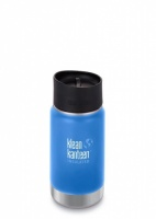 Klean Kanteen Wide Insulated 3-in-1 Drinks Holder - Perfect for Coffee or Cold Drinks - 355ml/12oz Pacific Sky