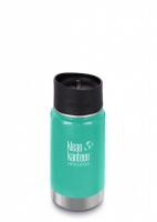 Klean Kanteen Wide Insulated 3-in-1 Drinks Holder - Perfect for Coffee or Cold Drinks - 355ml/12oz Sea Crest