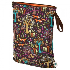 Planetwise Reusable Wet Bag Jewel Woods