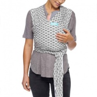 Moby Wrap Evolution - Stretchy Baby Carrier from Newborn - Diamonds