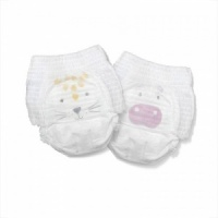 Kit & Kin High Performance Eco Friendly Nappy Pants / Pull Ups Size 5 Monthly Box 15-18kg/34-40lbs