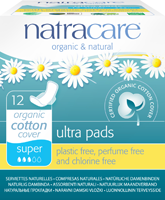 Natracare Organic Cotton Ultra Sanitary Pads