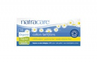 Natracare Tampons 100% Organic Cotton and Nothing Else Regular Applicator 16s