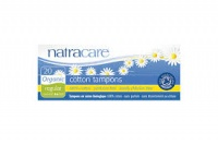 Natracare Tampons 100% Organic Cotton and Nothing Else Regular Non Applicator 20s