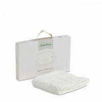 The Little Green Sheep Organic Jersey Fitted Crib Sheet BOX DAMAGED