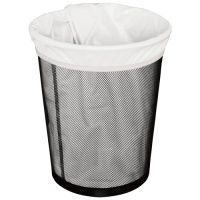 Planetwise Washable Waterproof Reusable Bin Bag - White