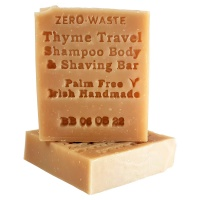Palm Free Irish Soap Co Shampoo Bar - Thyme