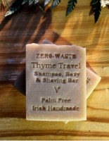 Palm Free Irish Soap Co Shampoo Bar - Thyme & Lavender