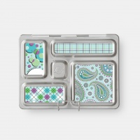 Planetbox Rover Magnet Set - Paisley and Plaid