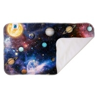 Planetwise Washable Waterproof Changing Pad Far Far Away