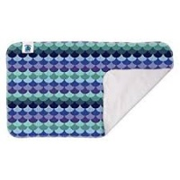 Planetwise Washable Waterproof Changing Pad Mermaid Tail