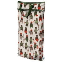 Planetwise Reusable Hanging Wet/Dry Bag Brawny Bears
