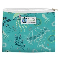 Planetwise Reusable Zipper Sandwich / Snack Bag Jelly Jubilee