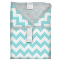 Planetwise Reusable Sandwich Wrap Teal Chevron