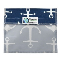 Planetwise Reusable Window Sandwich Bag Overboard