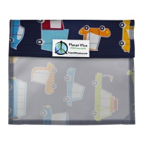 Planetwise Reusable Window Sandwich Bag On The Road