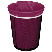 Planetwise Washable Waterproof Reusable Bin Bag - Plum
