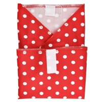 Planetwise Reusable Sandwich Wrap Red Dots