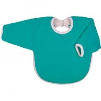 Iobio Organic Cotton Long Sleeved Bib Emerald