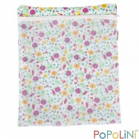 Popolini Nappy Bag with Zipper for Cloth Nappies - Fruits