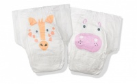 Kit & Kin High Performance Eco Friendly Nappies Size 3 Monthly Box 7-13kg/16-28lbs