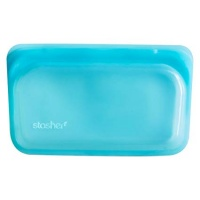 Stasher Reusable Snack Bag - Cook Freeze Store - Zero Plastic - Aqua