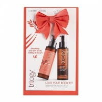 Trilogy Love Your Body Kit Limited Edition Botanical Body Wash and Body Oil Set