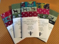 Hanna's Bee Wraps - Vegan Kitchen Pack - Large