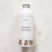 Warrior Natural Dry Shampoo - Cocoa & Vanilla  - For Medium to Dark Hair